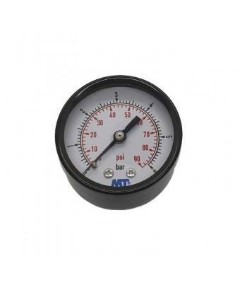 Manometru pentru filtru piscina - afisaj intre 0 si 6 bari - conexiune axiala