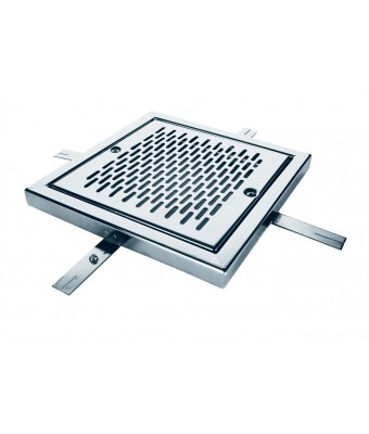 Grilaj scurgere din otel inoxidabil pentru beton 500 mm AISI-316