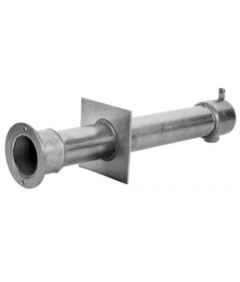 Conducte de perete din otel inoxidabil lungime 240 mm