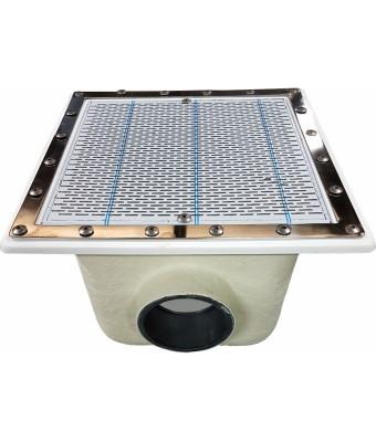 Sifon principal din poliester si fibra de sticla 515 mm cu iesire 200 mm