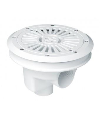 Scurgere principala rotunda cu si grilaj plat, diametru 200 mm