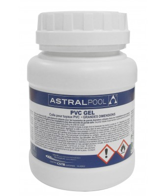 Adeziv gel cu uscare rapida PVC 1L - AstralPool