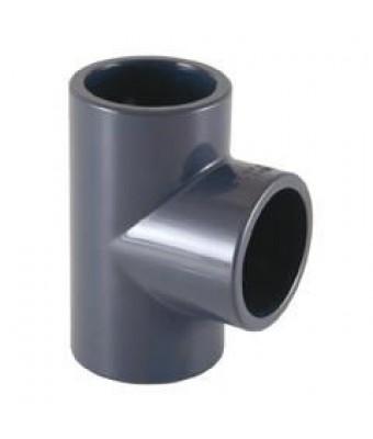 TEU 90° PVC pentru lipit Ø50 mm - Cepex