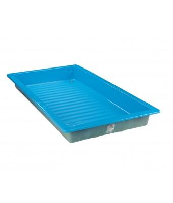 Cadita albastra pentru spalarea picioarelor - 2 x 1 metri - Astralpool