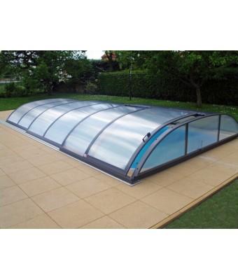 Acoperire piscina Azure Flat (l= 4,75m; L= 8,55m; H= 0,90m)