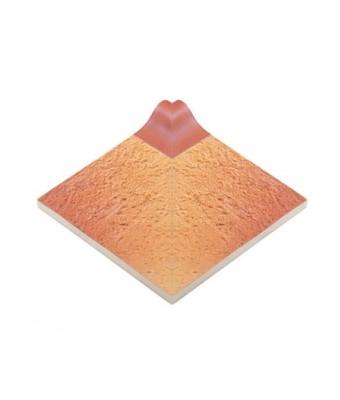 Colt interior bordura de margine - Pietra Relief Handle Internal Corner (Cotto)