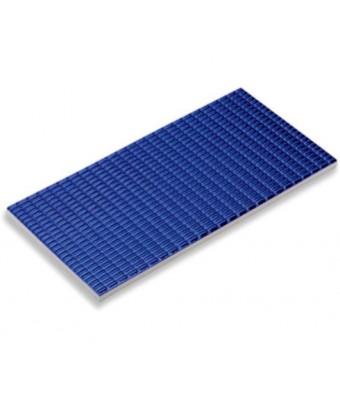 Placa cu striatii antialunecare - Petit carre Antislip (Cobalt)