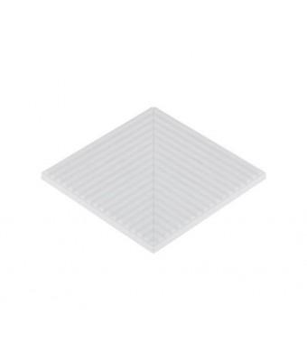 Placa de colt cu dungi antialunecare (neglazurata) - Striped Antislip Corner (Unglazed)