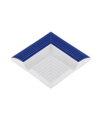 Colt exterior bordura de margine cu dungi - Striped Handle External Corner (Cobalt)