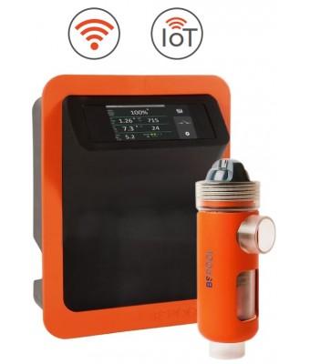 Aparat electroliză Evo LINK - set pH, Rx, Temp. - 35 gr/h   - BS Pool
