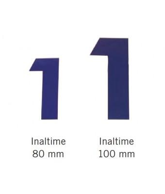 Numere pentru blocstarturi 80 mm pentru 6 culoare