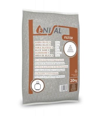 Nisip fin ENISAL  (granulatie 0,5-1 mm) 20kg