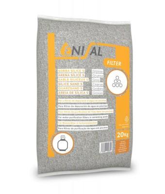Nisip grosier ENISAL (granulatie 2-4 mm) 20kg
