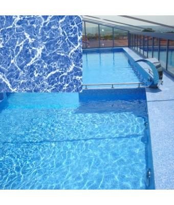 Liner piscina MARBLE BLUE 1.5mm - ELBEblue Line