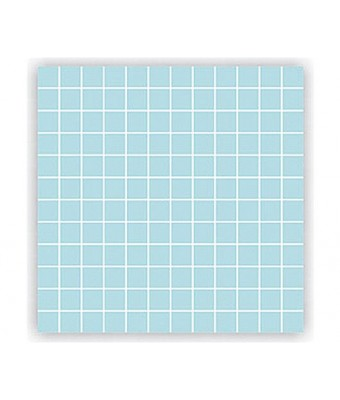 Mozaic portelan 2,5 x 2,5 cm - Aqua Blue