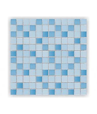 Mozaic portelan 2,5 x 2,5 cm - Blue Harmony