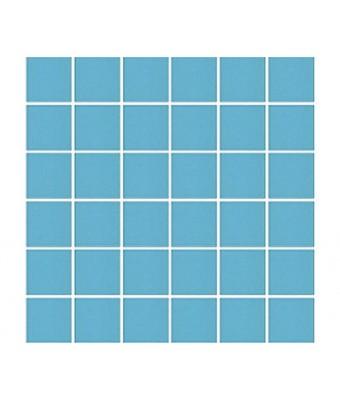 Mozaic portelan 5 x 5 cm - Blue