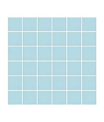 Mozaic portelan 5 x 5 cm - Aqua Blue