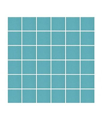 Mozaic portelan 5 x 5 cm - Turquoise