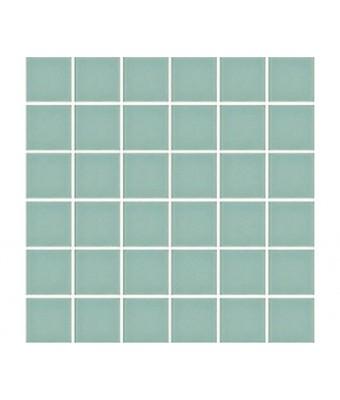 Mozaic portelan 5 x 5 cm - Aqua Green