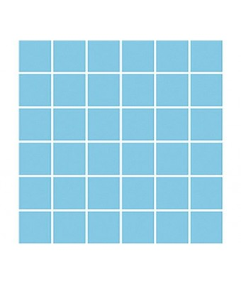 Mozaic portelan antiderapant 5 x 5 cm - Antislip (Light Blue)