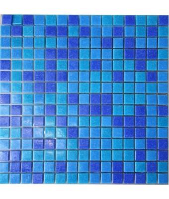 Mozaic din sticla  2 x 2 cm - Mix 103