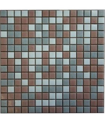 Mozaic din sticla  2 x 2 cm - Mix 302
