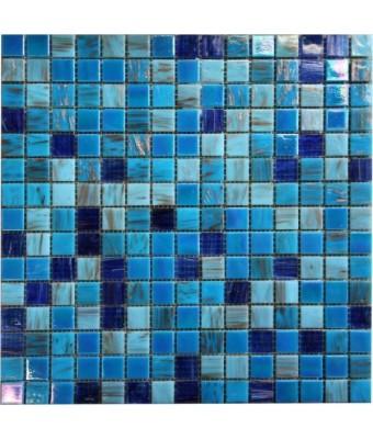 Mozaic din sticla  2 x 2 cm - POOL1
