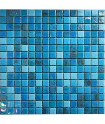 Mozaic din sticla  2 x 2 cm - POOL2