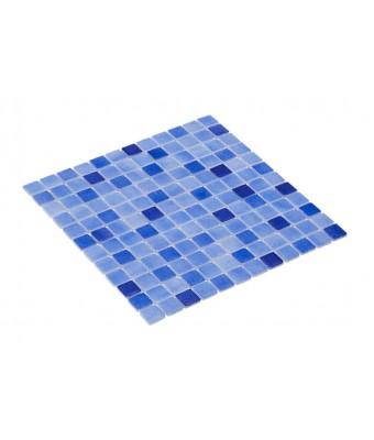 Mozaic vitroceramic mix  2,5x2,5 cm-HVZ060