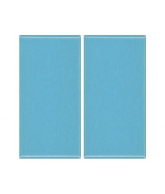 Placa portelan 12,5 x 25 - Blue