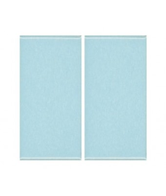 Placa portelan 12,5 x 25 - Aqua Blue