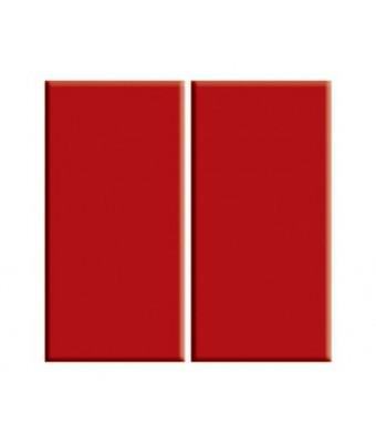 Placa portelan 12,5 x 25 - Red