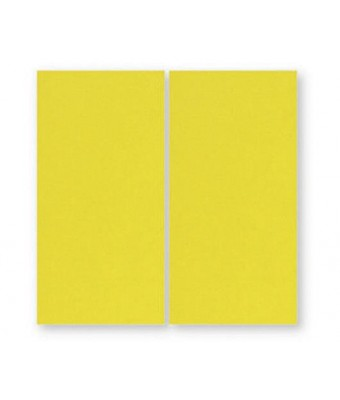 Placa portelan 12,5 x 25 - Yellow
