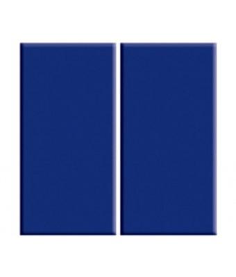 Placa portelan 12,5 x 25 - cobalt