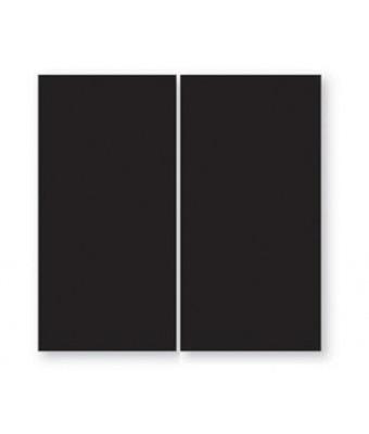 Placa portelan 12,5 x 25 - Black