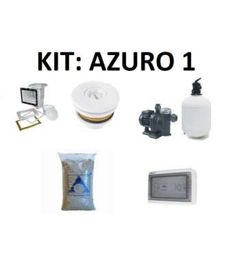 Kit filtrare Basic SET: Azuro 1