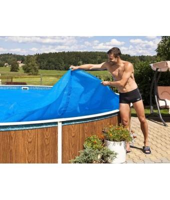 Prelata de vara pentru piscina de 5.5 x 3.7 metri diametru