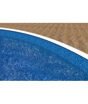 Liner Mistry pentru piscina Azuro Wood Vario (9.1 x 4.6 x 1.2 m)