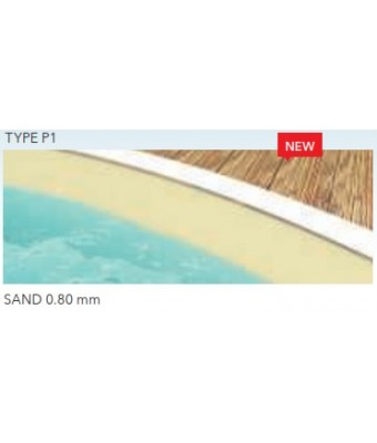 Liner SAND pentru piscina Ibiza Family (3.20 x 5.25 x 1.5 m)