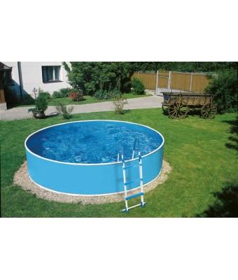 Perete metalic pentru piscina Azuro Vario rotunda - 4.6 x 0.9 metri