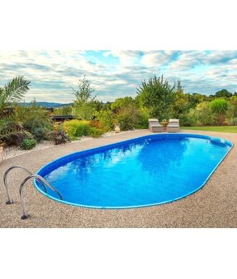 Perete piscina Ibiza Family ovala - 3.50 x 7.0 x 1.5 metri