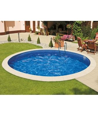 Perete piscina Ibiza Family rotunda - 5.0 x 1.2 metri