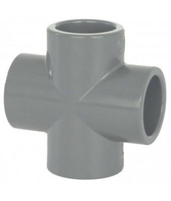 Cruce PVC-U D63 -Cepex