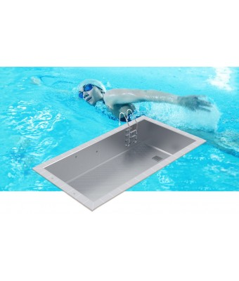 Piscina din inox cu skimmere OPTIMAL 7x3x1,2m - AstralPool