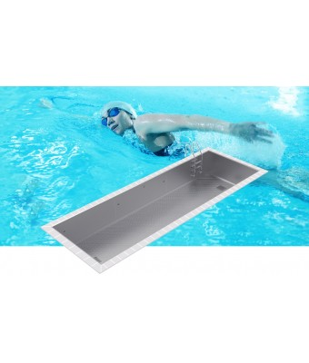 Piscina din inox cu skimmere OPTIMAL 12x3x1,2m - AstralPool
