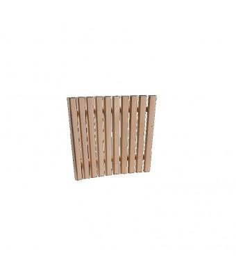 Abajur colt pentru sauna din lemn de tei - Sentiotec