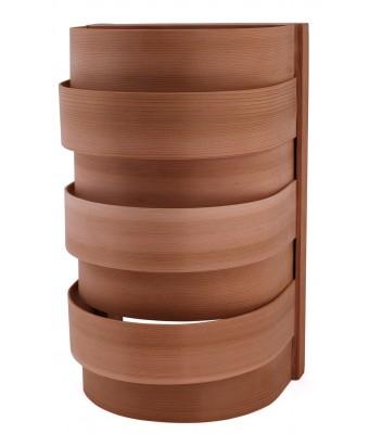 Abajur pentru sauna din lemn de cedru