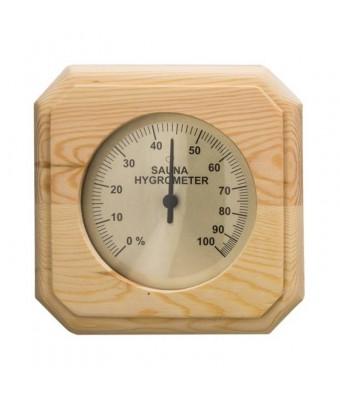 Hydrometru din lemn de pin pentru sauna - Sentiotec