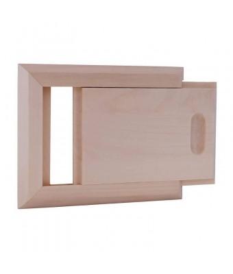 Fanta din lemn de pin pentru sauna - Interior - Sentiotec